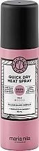 Perfumería y cosmética Spray de protección térmica de cabello con aroma a rosa amarilla y almizcle blanco - Maria Nila Quick Dry Heat Spray