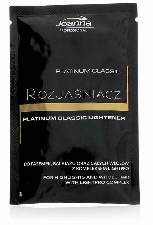 Aclarador de cabello con extracto de camomila y proteínas - Joanna Professional Platinum Classic Lightener