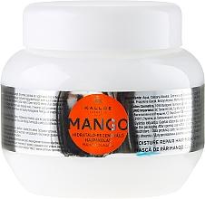 Perfumería y cosmética Mascarilla restauradora capilar con aceite de mango - Kallos Cosmetics Mango