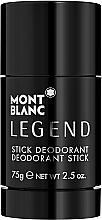 Perfumería y cosmética Montblanc Legend Stick - Desodorante stick