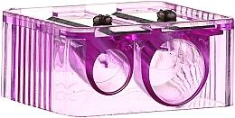 Perfumería y cosmética Sacapuntas doble, 4109, lila - Donegal Sharpener Pencil