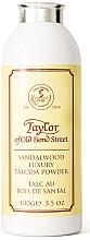 Perfumería y cosmética Taylor of Old Bond Street Sandalwood Luxury Talcum Powder - Talco aftershave con aroma a sándalo