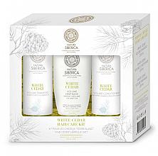 Perfumería y cosmética Set capilar - Natura Siberica White Cedar Hair Care Kit (champú/250ml + acondicionador250ml + mascarilla/200ml)