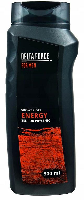 Gel de ducha energizante - Pharma CF Delta Force For Men Energy Shower Gel