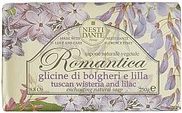 Perfumería y cosmética Jabón natural vegetal con aroma a lila - Nesti Dante Romantica Tuscan Wisteria&Lilac Soap
