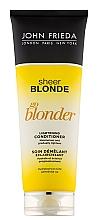 Perfumería y cosmética Acondicionador para cabello con extracto de camomila y complejo cítrico - John Frieda Sheer Blonde Soin Demelant Eclaircissante Go Blonder