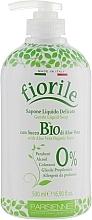 Perfumería y cosmética Jabón líquido delicado con aloe vera de agricultrua biológica - Parisienne Italia Fiorile BIO Aloe Vera Liquid Soap