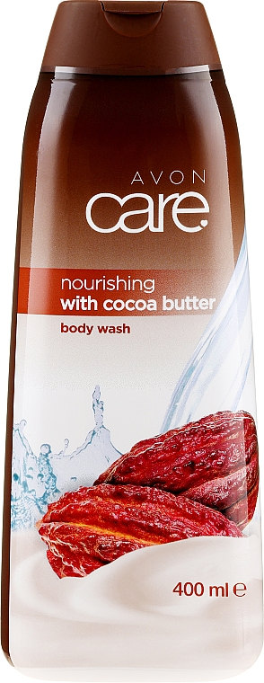 Gel de ducha nutritivo con manteca de cacao - Avon Care Nourishing With Cocoa Butter Body Wash