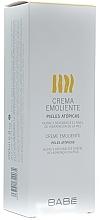 Perfumería y cosmética Crema corporal emoliente con manteca de karité y glicerina, pieles atópicas - Babe Laboratorios Emollient Cream