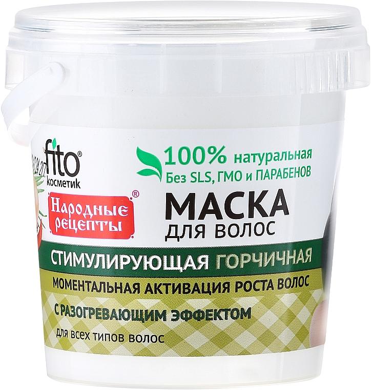 Mascarfilla capilar estimulante de mostaza - Fito Cosmetic
