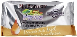 Perfumería y cosmética Jabón de Marsella, miel dulce - Ma Provence Marseille Soap