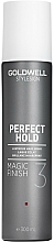 Perfumería y cosmética Laca brillante antihumedad, fijación ligera flexible - Goldwell Style Sign Perfect Hold Magic Finish Lustrous Hairspray