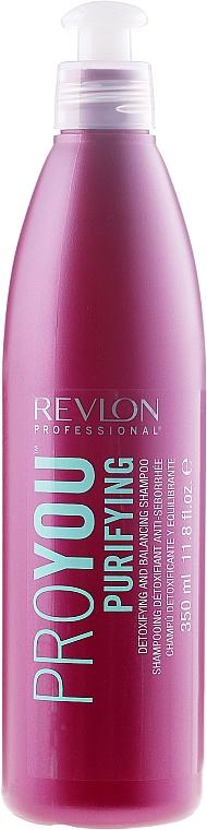 Champú detoxificante y equilibrante con extracto de romero - Revlon Professional Pro You Purifying Shampoo — imagen N1