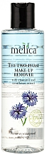Perfumería y cosmética Desmaquillante facial bifásico con vitamina E y extracto de aciano - Melica Organic The Two Phase Make-Up Remover