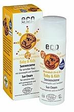 Perfumería y cosmética Crema protectora solar con extracto de granada y espino amarillo sin parabenos - Eco Cosmetics Baby Sun Cream SPF 45
