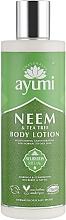 Perfumería y cosmética Loción corporal con neem & árbol de té para pieles normales a grasas - Ayumi Neem & Tea Tree Body Lotion