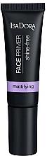 Perfumería y cosmética Prebase facial con extractos botánicos - IsaDora Face Primer Shine-Free Mattifying