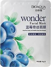Perfumería y cosmética Mascarilla facial de tejido con extracto de arándanos - Bioaqua Wonder Facial Mask