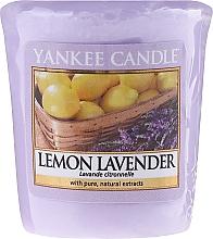 Perfumería y cosmética Vela aromática votiva, limón y lavanda - Yankee Candle Scented Votive Lemon Lavender