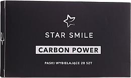Perfumería y cosmética Tiras de blanqueamiento dental con carbón activo - Star Smile Carbon Power Whitening Strips