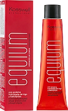 Perfumería y cosmética Crema colorante profesional con proteína hidrolizada de trigo, 100ml - Kosswell Professional Equium