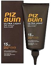 Perfumería y cosmética Fluido corporal de protección solar, SPF 15 - Piz Buin Ultra Light Dry Touch SPF15