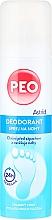 Spray antitranspirante para pies - Astrid Foot Deodorant Spray Peo — imagen N1