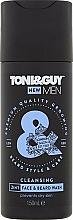 Perfumería y cosmética Champú hidratante para barbas y bigotes - Toni & Guy Men Cleansing 2in1 Face & Beard Wash