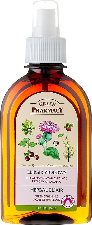 Elixir anticaída a base de hierbas - Green Pharmacy