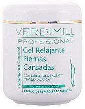 Perfumería y cosmética Gel relajante para piernas cansadas con extractos de algas y centella asiática - Verdimill Professional Relaxing Gel