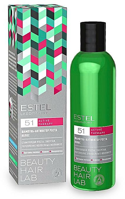 Champú estimulador de crecimiento con cafeína - Estel Beauty Hair Lab 51 Active Therapy Shampoo
