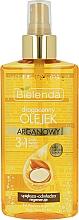Perfumería y cosmética Aceite de argán 3 en 1 para rostro, cabello y cuerpo - Bielenda Drogocenny Olejek