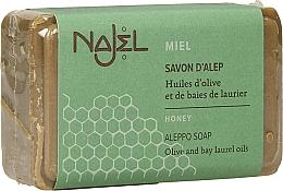Perfumería y cosmética Jabón de Alepo para rostro, cuerpo y cabello con miel - Najel Soap