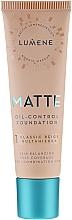 Perfumería y cosmética Base de maquillaje mate de larga duración - Lumene Matte Oil-control Foundation