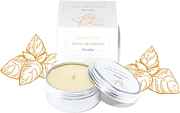 Perfumería y cosmética Vela de masaje con manteca de karité, aroma a albahaca - Almond Cosmetics Basil Space Massage Candle