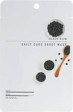 Perfumería y cosmética Mascarilla facial de tejido con extracto de haba de soja negra - Eunyul Black Bean Daily Care Sheet Mask