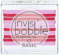 Perfumería y cosmética Set de gomas de pelo - Invisibobble Basic Jelly Twist