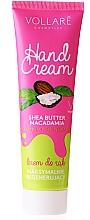 Perfumería y cosmética Crema de manos con manteca de karité y aceite de macadamia - Vollare Cosmetics De Luxe Hand Cream S.O.S Maximum Regeneration