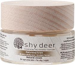 Perfumería y cosmética Crema contorno de ojos con extracto de mora y granada - Shy Deer Natural Eye Cream