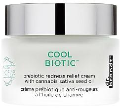 Perfumería y cosmética Crema facial antirojeces prebiótica con aceite de semilla cáñamo - Dr. Brandt Cool Biotic Prebiotic Redness Relief Cream