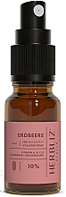 Perfumería y cosmética Spray bucal 100% natural vegano con aceite de semilla de fresa y 10% CDB - Herbliz CBD Oil Mouth Spray 10%
