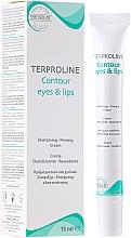 Perfumería y cosmética Crema contorno de ojos y labios con proteína de soja y ceramidas - Synchroline Aknicare Terproline Contour Eyes & Lips