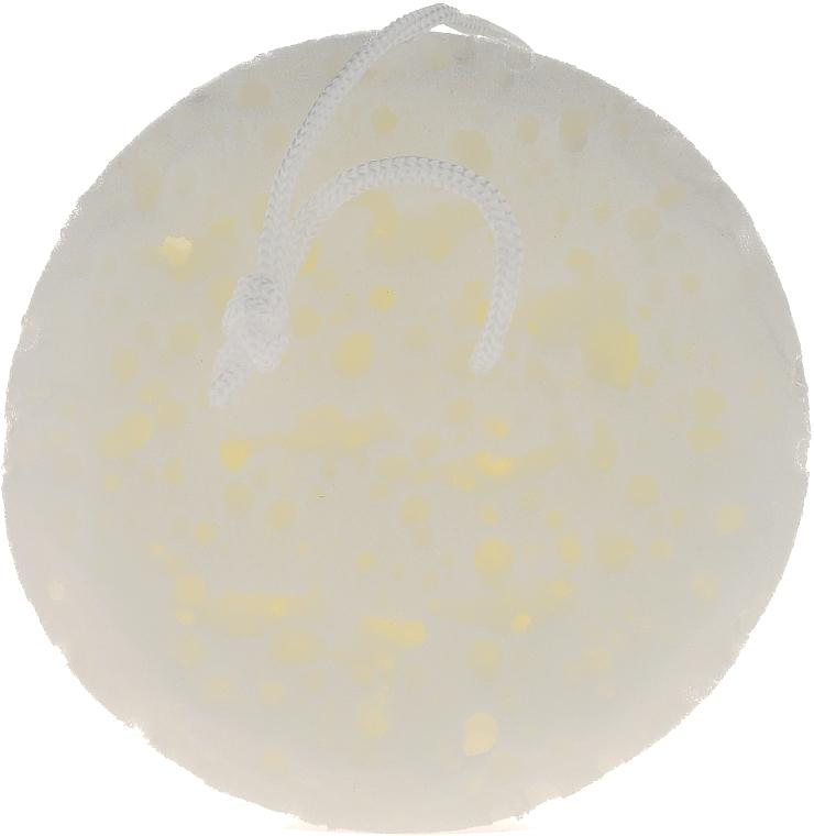 Esponja de baño, 6008, blanca - Donegal