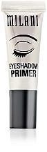Perfumería y cosmética Prebase para sombras de ojos - Milani Eyeshadow Primer