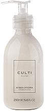 Perfumería y cosmética Culti Milano Acqua Leggera - Loción de manos y cuerpo con aroma a bergamota y pachulí