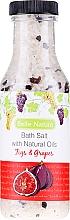 Perfumería y cosmética Sales de baño con aroma a higo y uva - Belle Nature Bath Salt