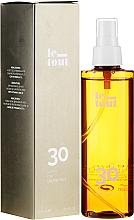 Perfumería y cosmética Aceite seco de protección solar con germen de trigo y vitaminas A y E - Le Tout Dry Oil Protect SPF30