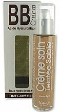 Crema facial correctora con aceite de avellana & ácido hialurónico 3 en 1 - Naturado En Provence Bio BB Cream — imagen N2