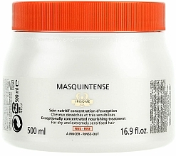 Perfumería y cosmética Mascarilla capilar con extracto de raíz de iris - Kerastase Masquintense Irisome Nutritive