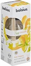 Perfumería y cosmética Difusor de aroma mango y bergamota - Bolsius Fragrance Diffuser True Moods Feel Happy